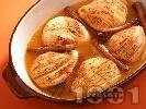 Рецепта Печени круши с ром и канела на фурна